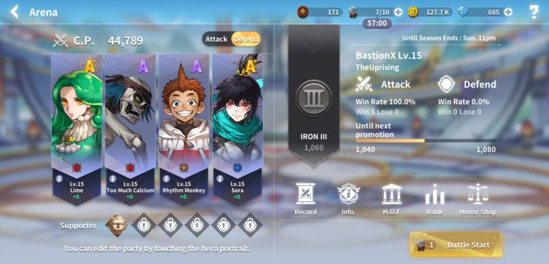 how to build a powerful team in lucid adventure