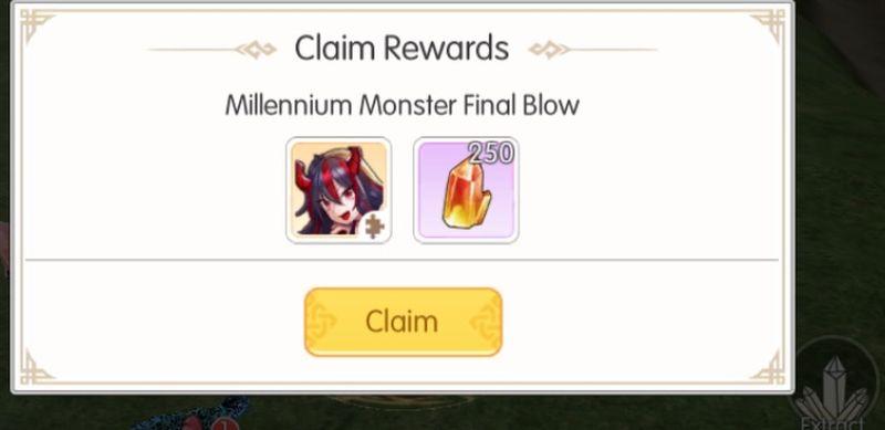mabinogi fantasy life millenium monster final blow