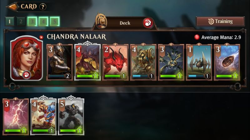 how to build a powerful deck in magic manastrike
