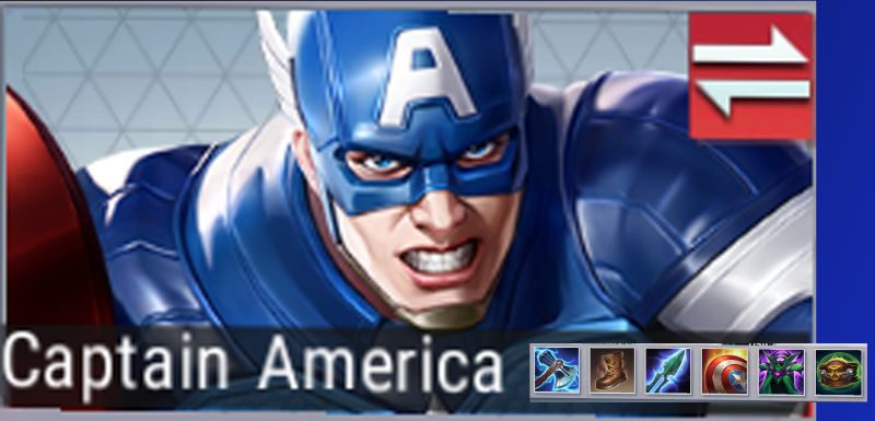 marvel super war captain america best gear
