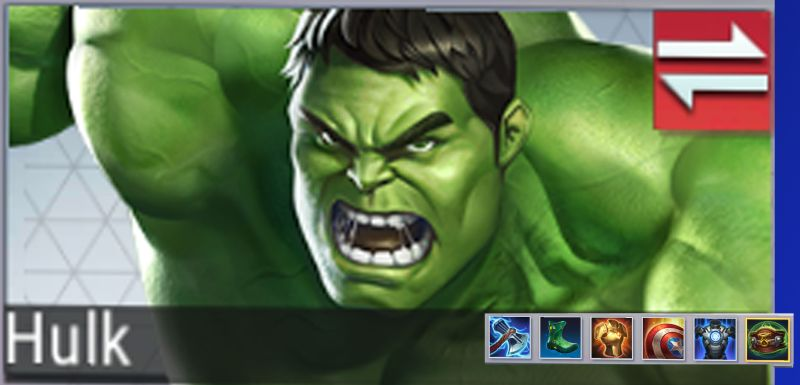 marvel super war hulk best gear