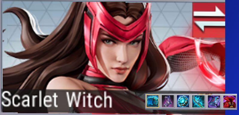 marvel super war scarlet witch best gear