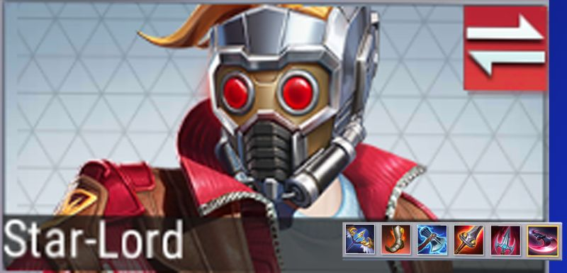 marvel super war star-lord best gear