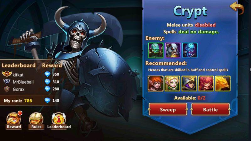 might & magic heroes era of chaos crypt