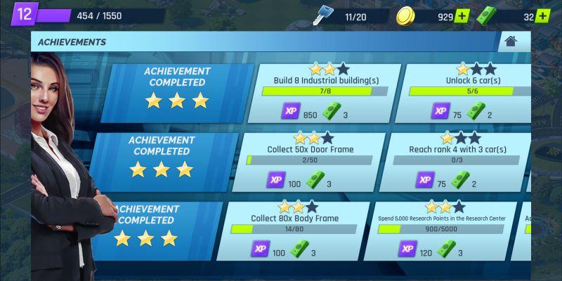 overdrive city achievements