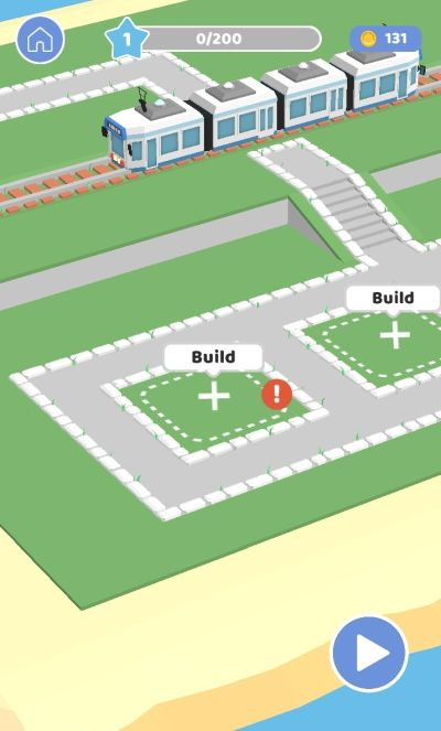 how to build houses and collect coins in pull the pin