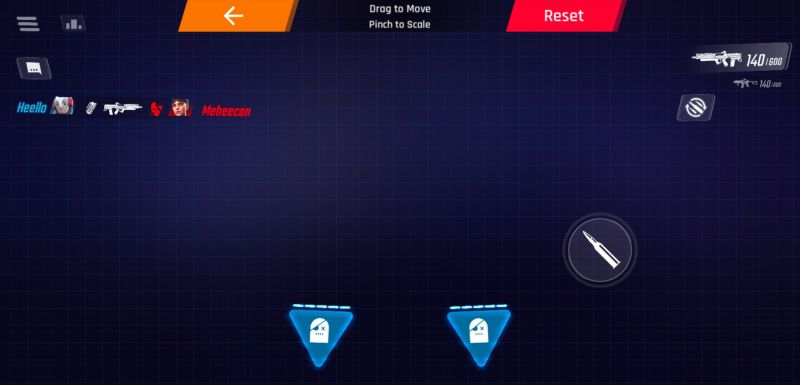 how to customize controls in shadowgun war games