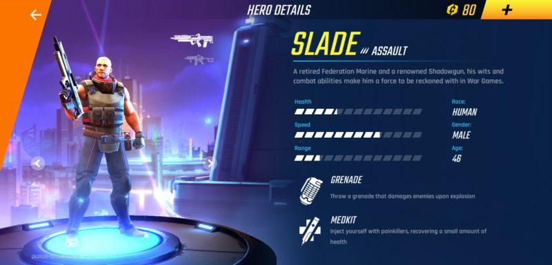 shadowgun war games skills and specializations