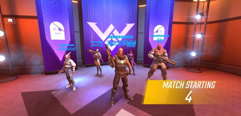 shadowgun war games team