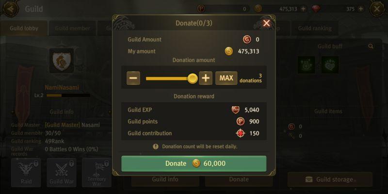 world of dragon nest guild