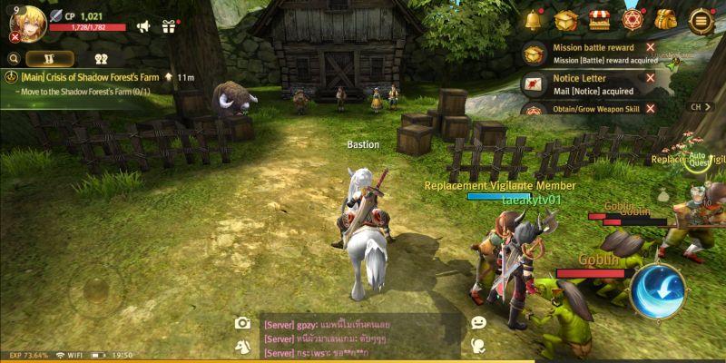world of dragon nest main quest