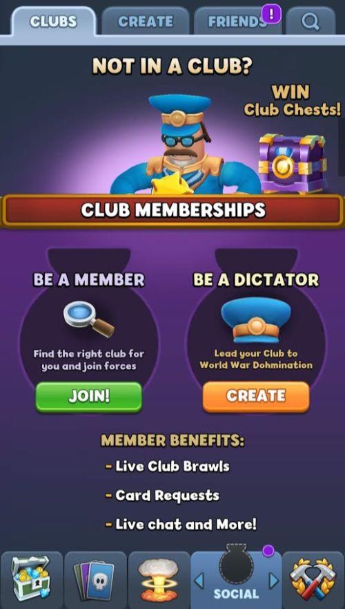 world war doh club