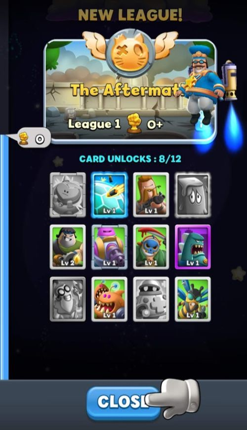 how to unlock new cards in world war doh