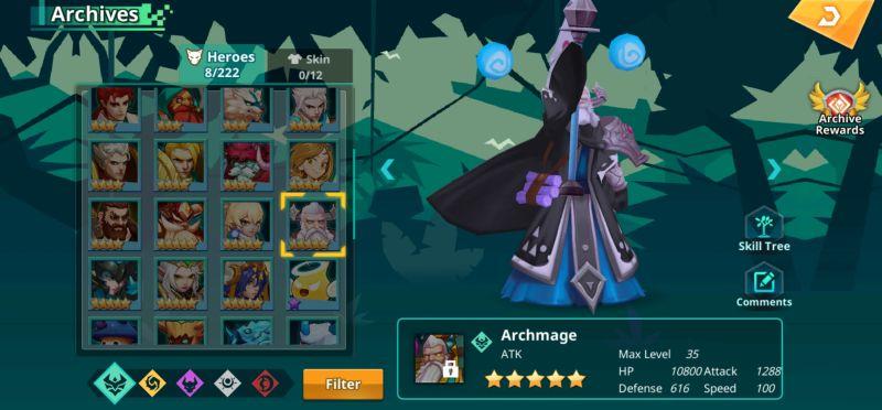 archmage calibria crystal guardians