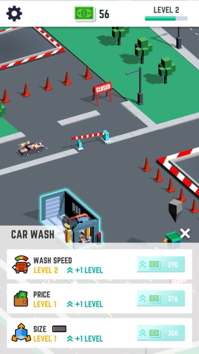 how to upgrade services in car wash empire