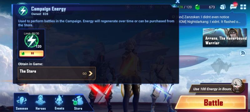 crystalborne heroes of fate campaign energy