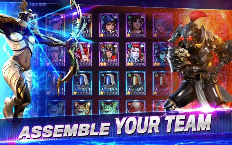 crystalborne heroes of fate team