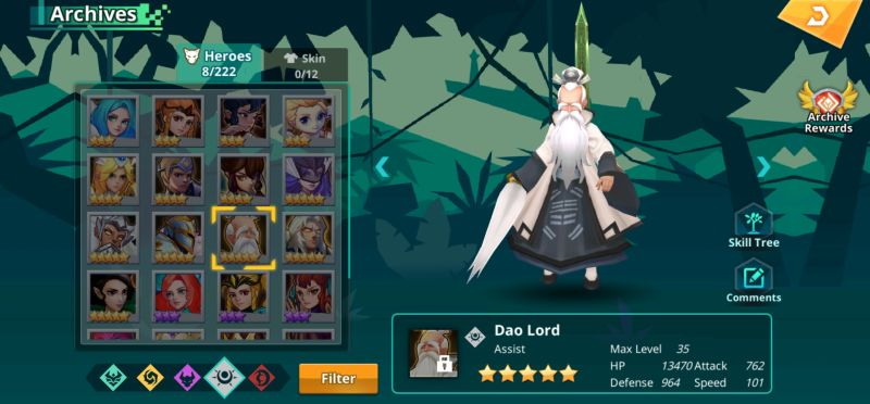 dao lord calibria crystal guardians