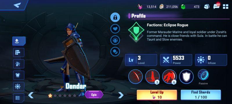 dendar crystalborne heroes of fate
