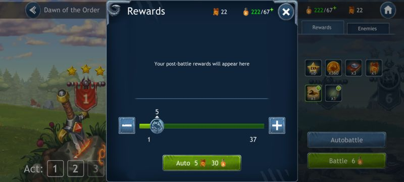 dragon champions rewards