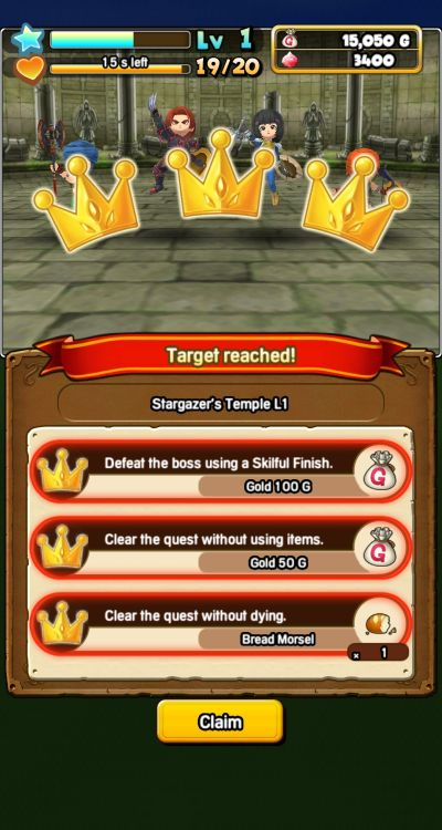 dragon quest of the stars dungeon missions
