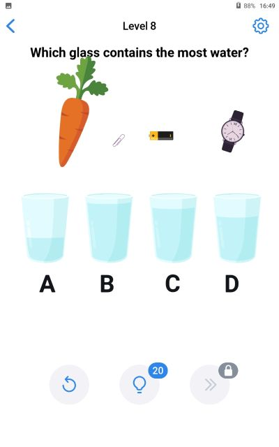 easy game brain test level 8 answer