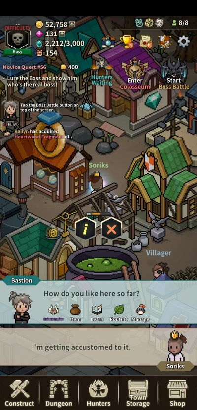 how to upgrade and unlock structures in evil hunter tycoon