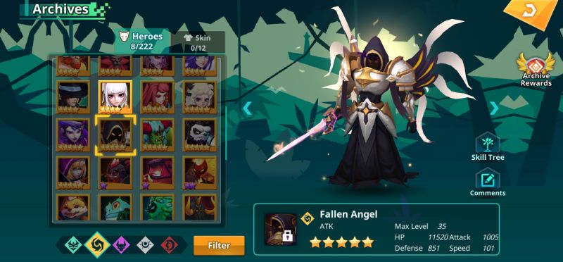 fallen angel calibria crystal guardians