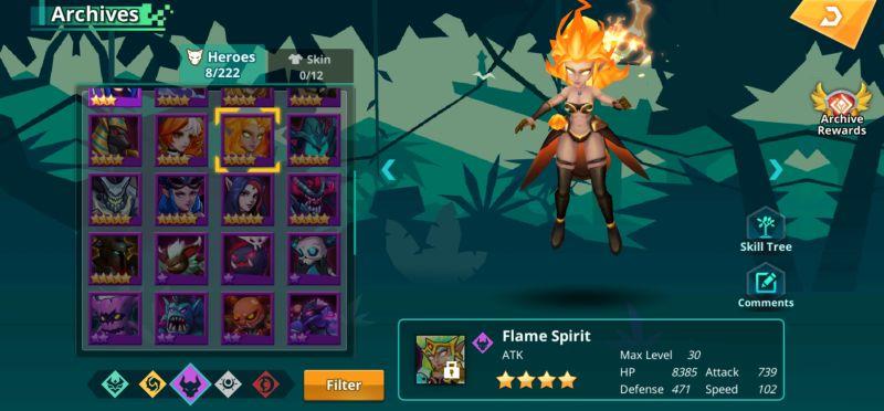 flame spirit calibria crystal guardians