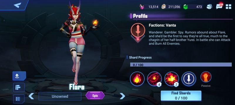 flare crystalborne heroes of fate