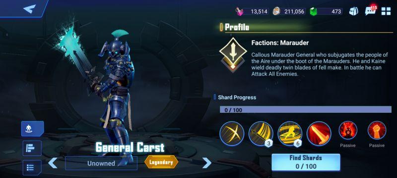 general carst crystalborne heroes of fate