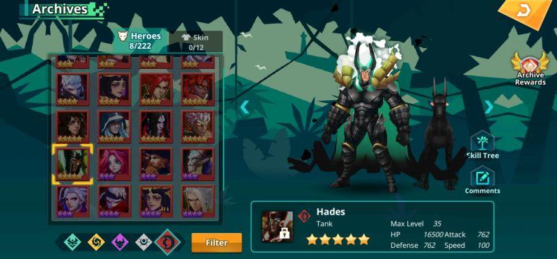 hades calibria crystal guardians