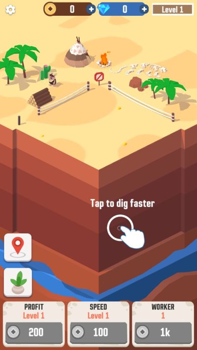 how to dig faster in idle digging tycoon