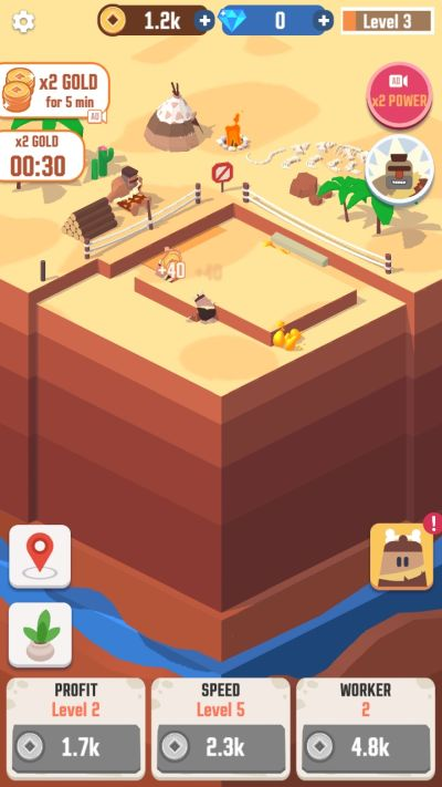 idle digging tycoon tips