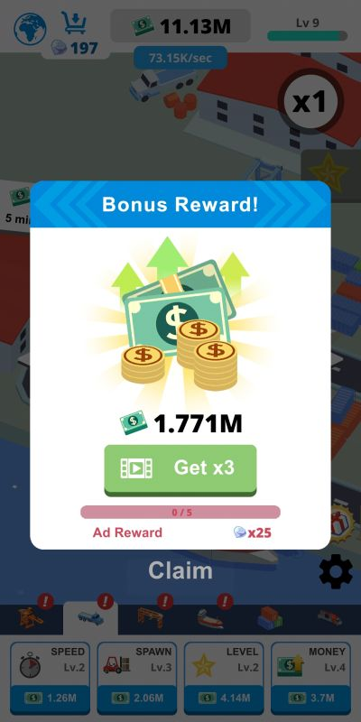 how to get boosts in idle port tycoon