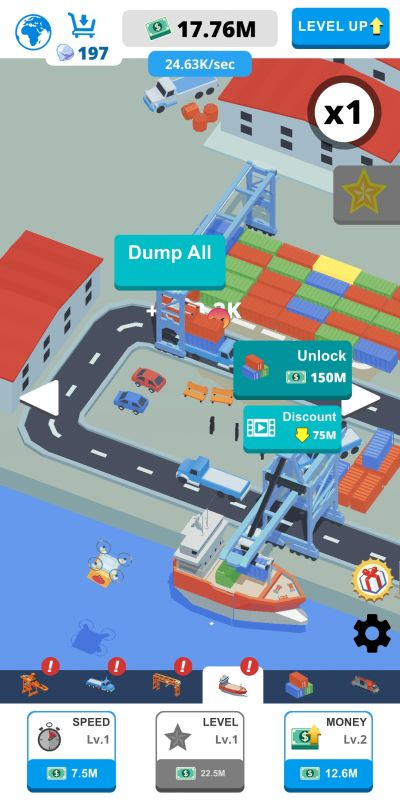 how to catch drones in idle port tycoon