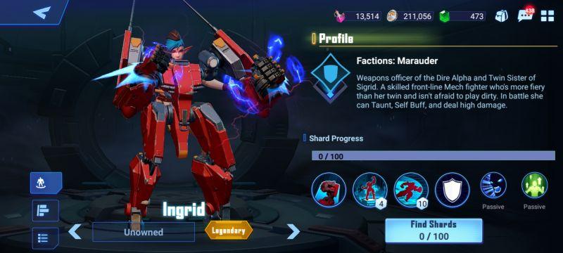 ingrid crystalborne heroes of fate
