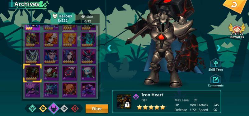 iron heart calibria crystal guardians