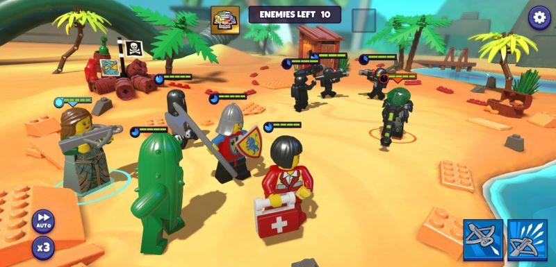 lego legacy heroes unboxed battle strategies