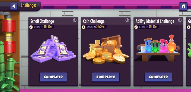 lego legacy heroes unboxed challenges