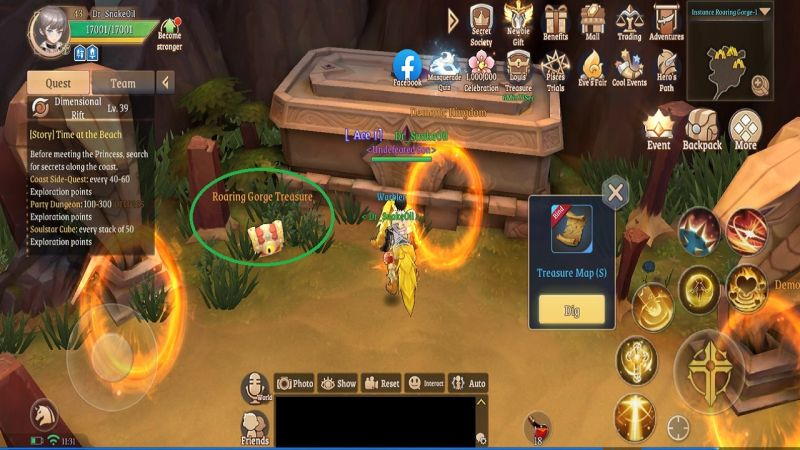 light of thel treasure boxes