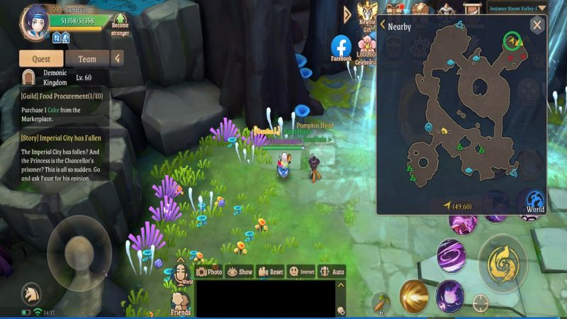 light of thel treasure map l2 steam valley