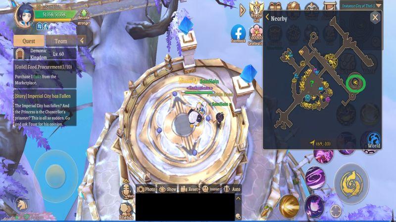 light of thel treasure map l5 city of thel