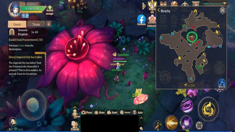 light of thel treasure map l6 fluoro forest
