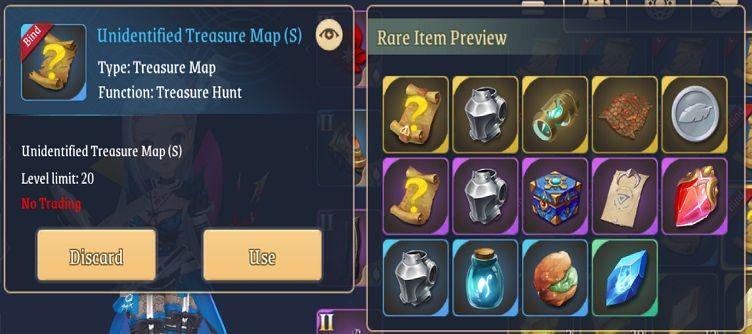 light of thel treasure map s loot
