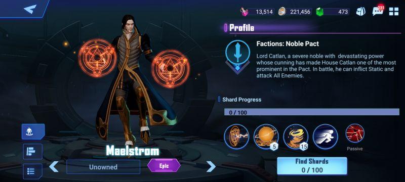 maelstrom crystalborne heroes of fate