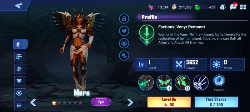 mara crystalborne heroes of fate