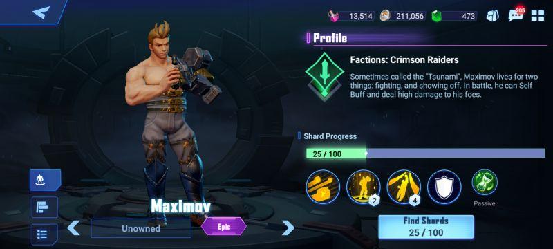 maximov crystalborne heroes of fate