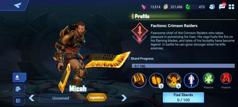 micah crystalborne heroes of fate