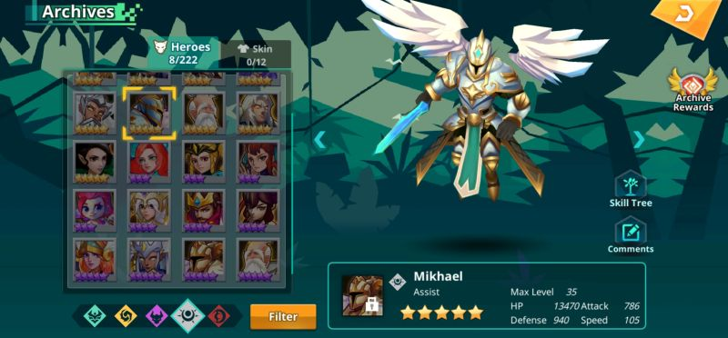 mikhael calibria crystal guardians